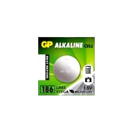 Piles GP1.5V AG12 /LR43 / 386 alkaline GP