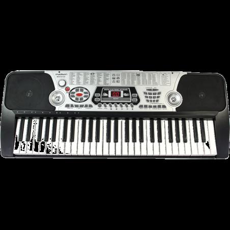Clavier électronique 54 touches, 100 rythmes + support