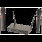 Système de microphone UHF 2 canaux