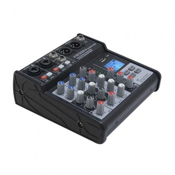 La DA MX 4 USB est une console de mixage analogique