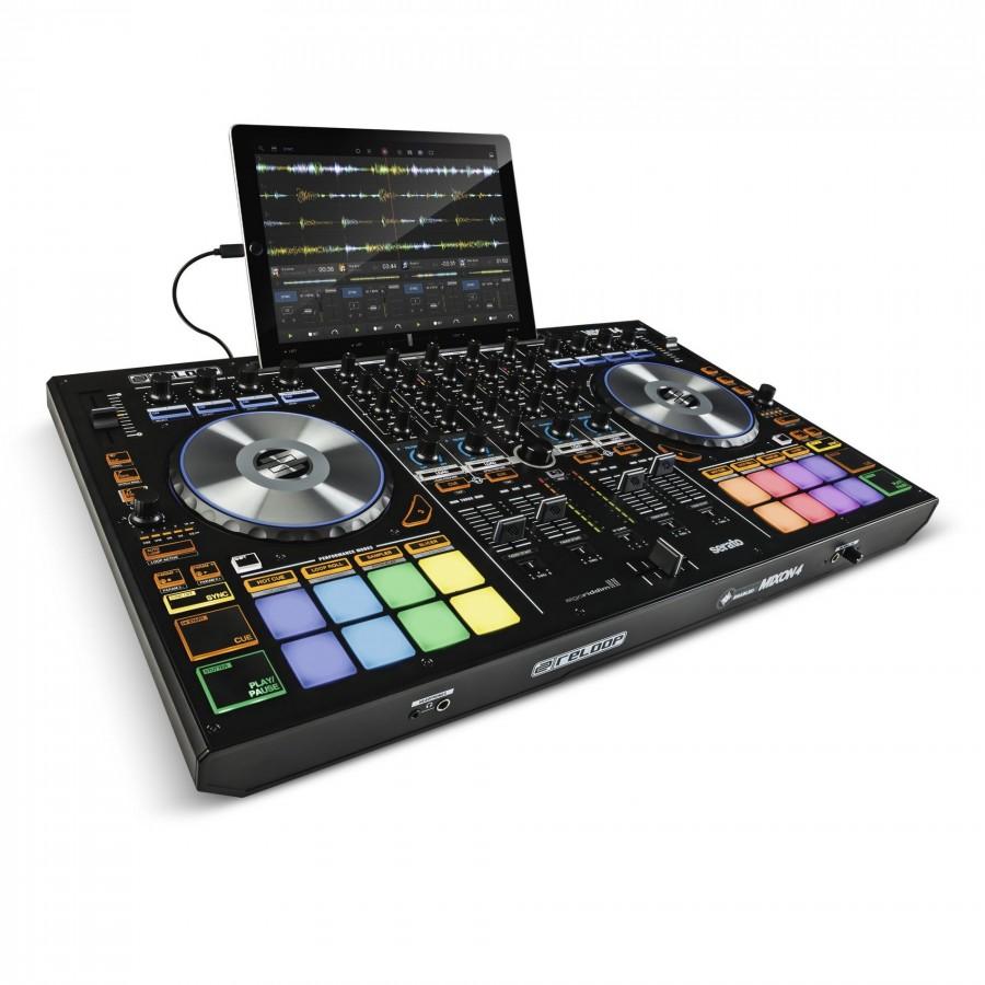 CONTROLEUR DJ USB MIDI 4 CANAUX SERATO INTRO- 236534