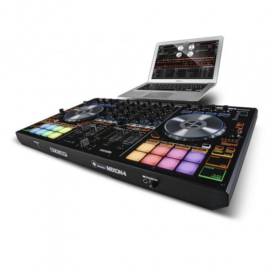 Contrôleur DJ 4 canaux Serato