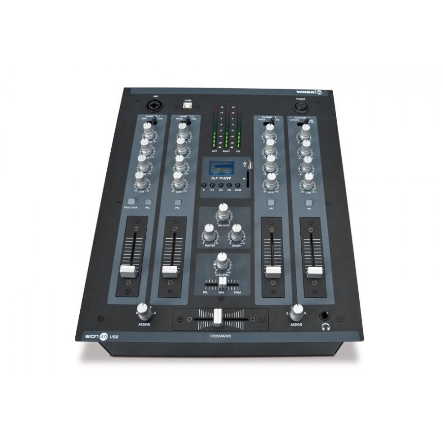 TABLE DE MIXAGE DJ 4 LINE / PHONO / CD / USB