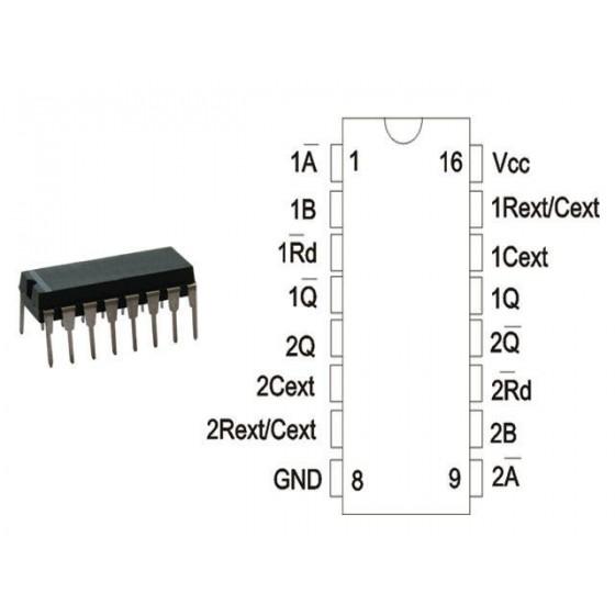 Circuit Logique HC/HCTMOS 74 HC 221