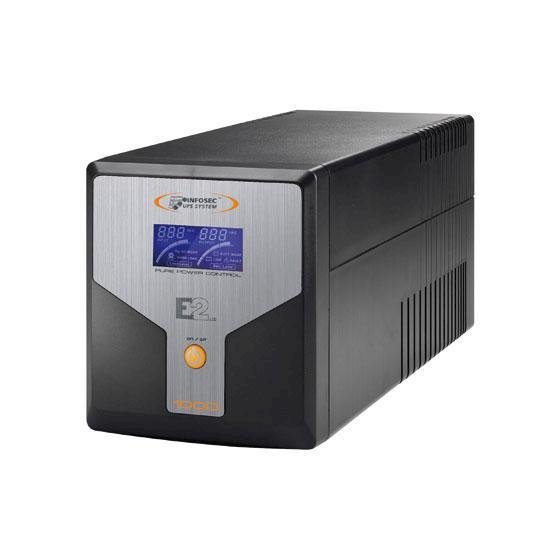 ONDULEUR INFOSEC 1KVA ON-LINE  1000VA/700W LCD